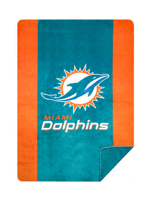 NFL Miami Dolphins Sliver Knit Throw