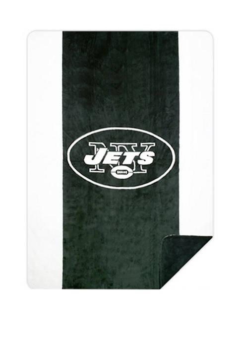 NFL New York Jets Sliver Knit Throw