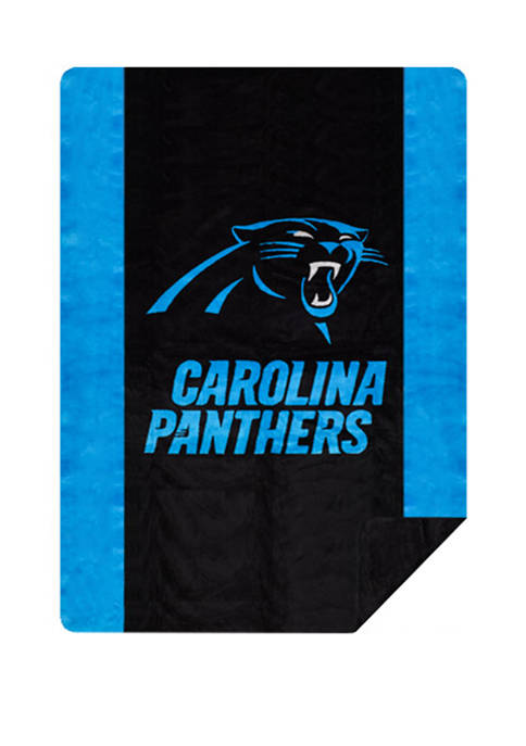 The Northwest Company NFL Carolina Panthers Sliver Knit