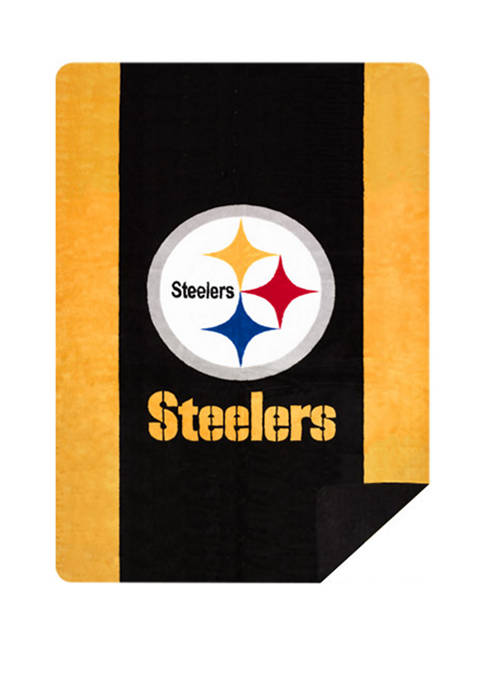 NFL Pittsburgh Steelers Sliver Knit Throw