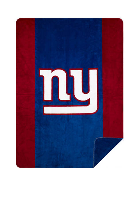NFL New York Giants Sliver Knit Throw