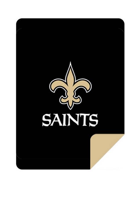 NFL New Orleans Saints Sliver Knit Throw