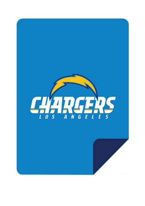 NFL Los Angeles Chargers Sliver Knit Throw
