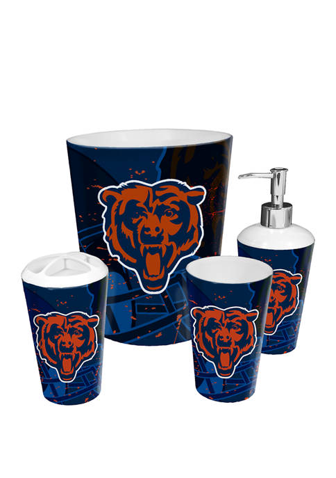 The Northwest Company NFL Chicago Bears 4 Piece