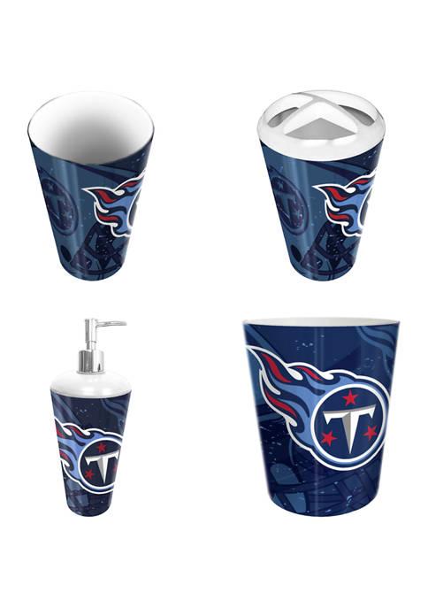 NFL Tennessee Titans 4 Piece Bath Set