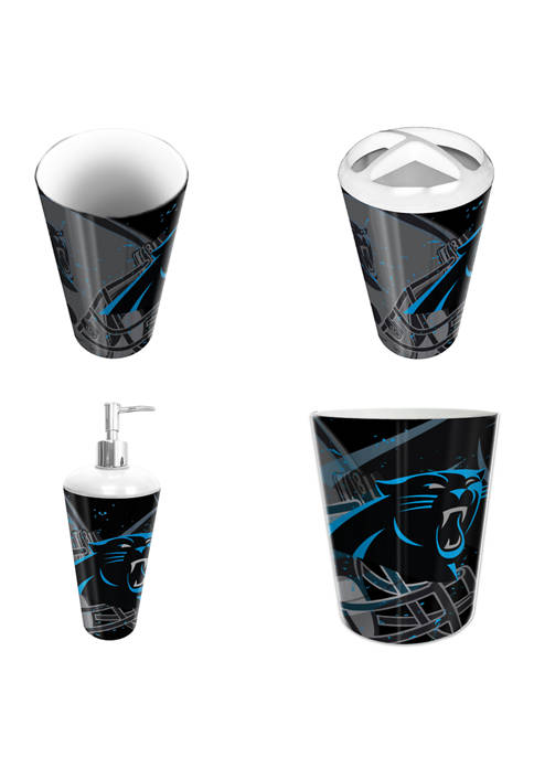 The Northwest Company NFL Carolina Panthers 4 Piece