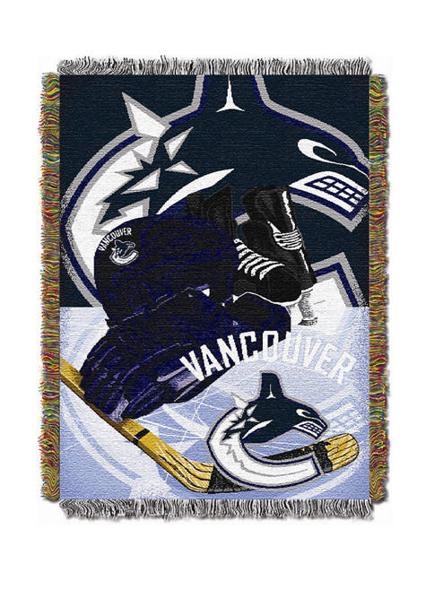 NHL Vancouver Canucks Fin the Whale  HIA Tapestry
