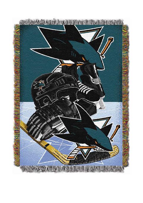 NHL San Jose Sharks SJ Sharkie HIA Tapestry
