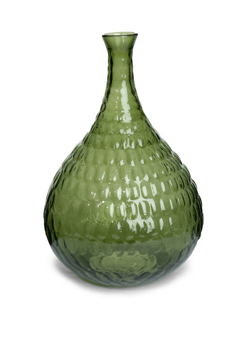 goodness & grace 16 Inch Green Vase