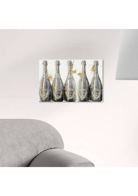 Dom Marbles Champagne Canvas
