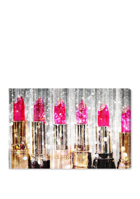 Oliver Gal Lipstick Collection Fashion and Glam Wall