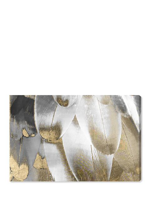 Oliver Gal Royal Feathers Fashion and Glam Wall