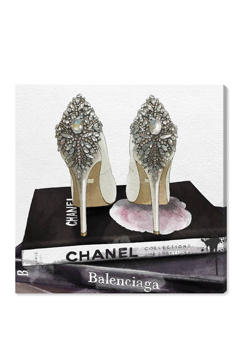 My Trophies Fashion and Glam Wall Art Canvas Print