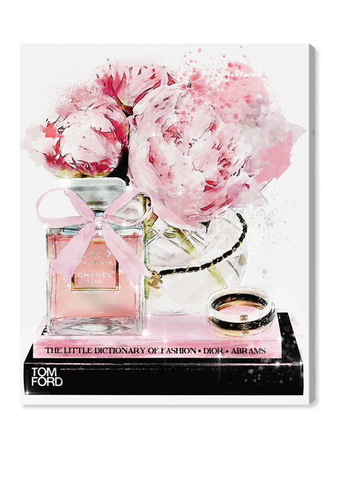 Oliver Gal Elegant Perfume and Morning Fashion and