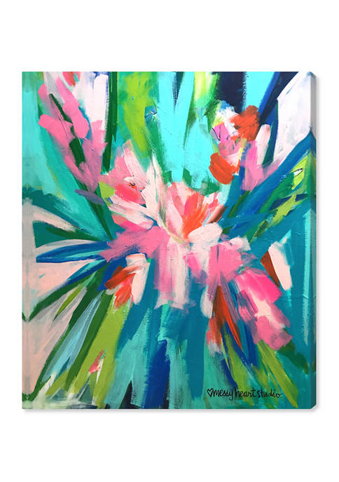 Oliver Gal Lourdes Wackes -Garden Party II Abstract