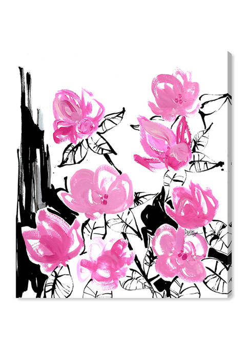 Denise Elnajjar - The Blooms Floral and Botanical Wall Art Canvas Print