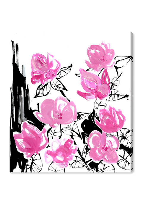 Denise Elnajjar - The Blooms Floral and Botanical Wall Art Canvas Print