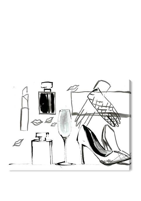 Denise Elnajjar - Set the stage Fashion and Glam Wall Art Canvas Print
