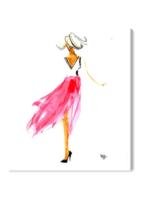 Denise Elnajjar - Breeze Fashion and Glam Wall Art Canvas Print