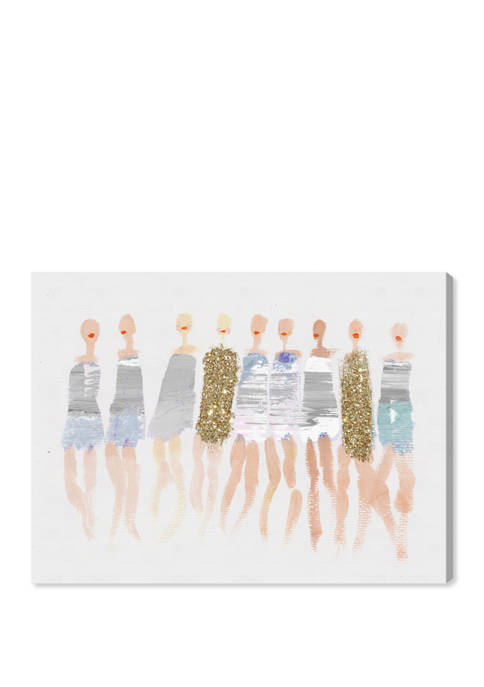 Ready for Waves Fashion and Glam Wall Art Canvas Print