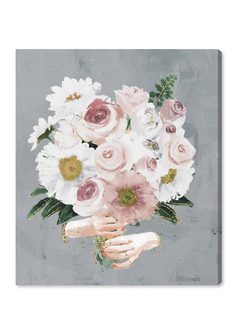 Lovely Bouquet Floral and Botanical Wall Art Canvas Print