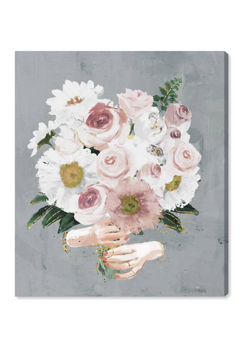 Oliver Gal Lovely Bouquet Floral and Botanical Wall