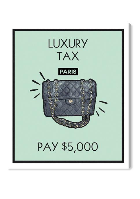 Luxury Purse Card Fashion and Glam Wall Art Canvas Print