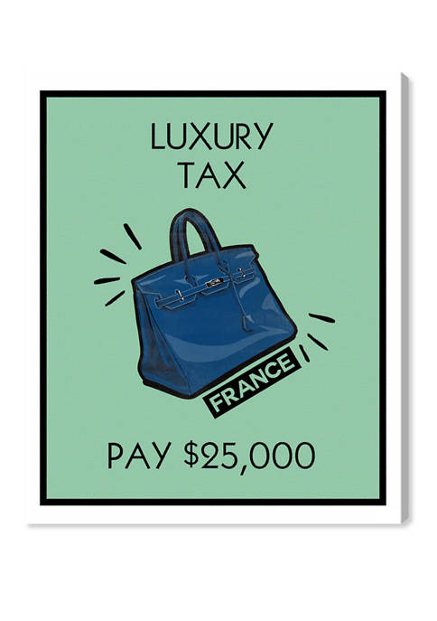 Oliver Gal Luxury Tax Purse Card Fashion and