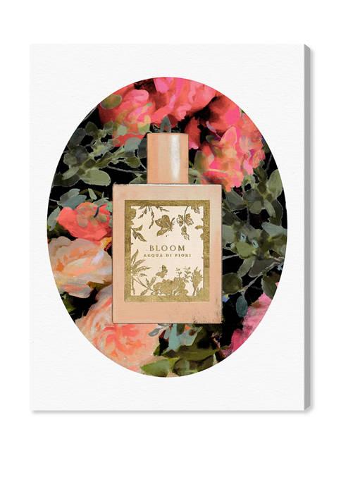 Romanticized Perfume Meadow Fashion and Glam Wall Art Canvas Print