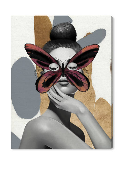 Queen Birdwing Fashion and Glam Wall Art Canvas Print