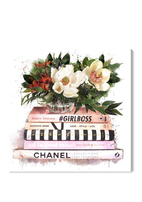 Oliver Gal Blush Girlboss Fashion and Glam Wall
