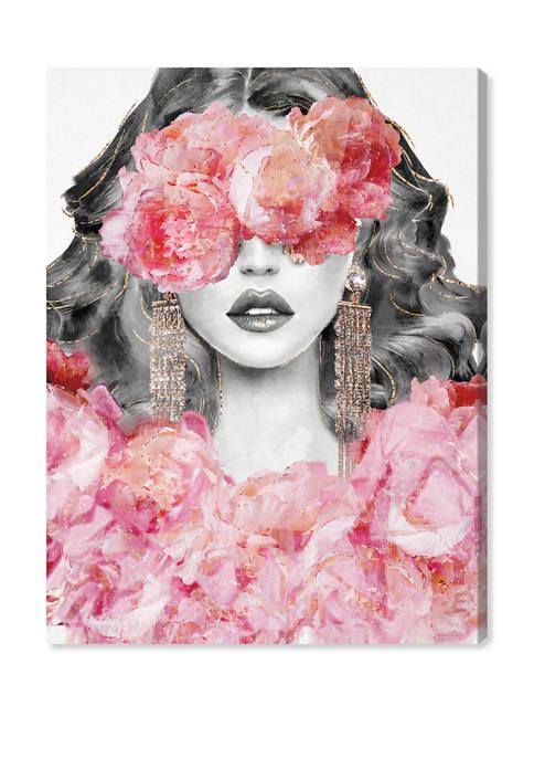 Peony Rejuvenation Fashion and Glam Wall Art Canvas Print