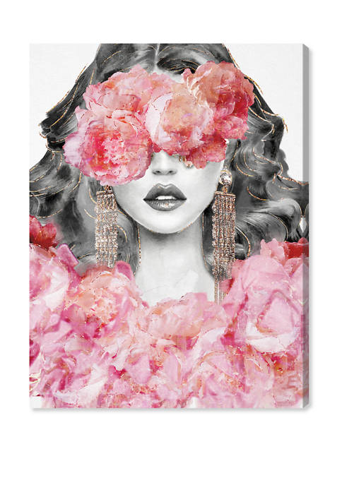 Oliver Gal Peony Rejuvenation Fashion and Glam Wall