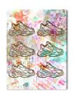 Layers of Bali Fashion and Glam Wall Art Canvas Print