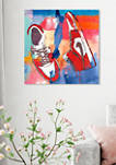 Sneaker Style II Fashion and Glam Wall Art Canvas Print