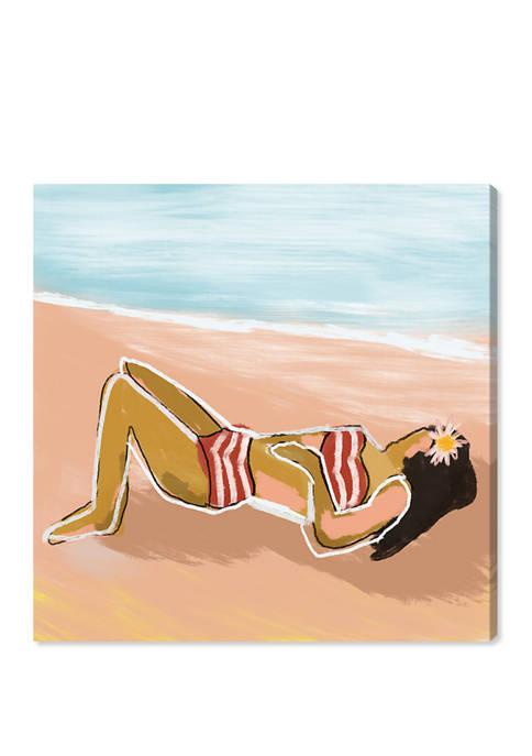 Oliver Gal Beach Girl II Nautical and Coastal