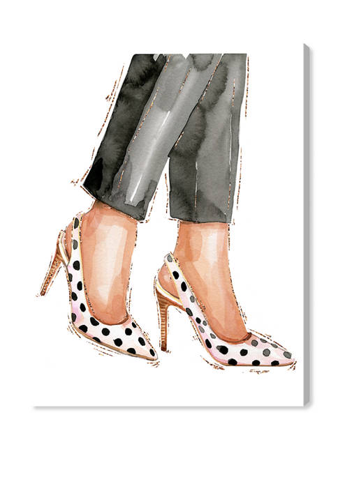 Oliver Gal Glam and Polka Dot Shoes Fashion