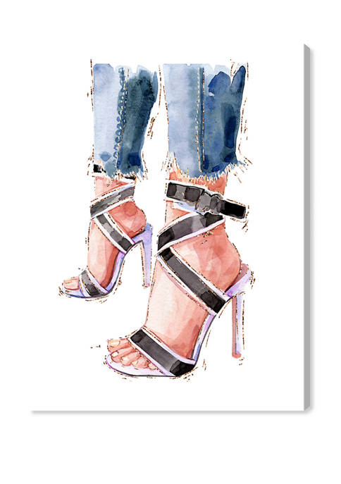 Oliver Gal Denim and Summer Shoes Fashion and
