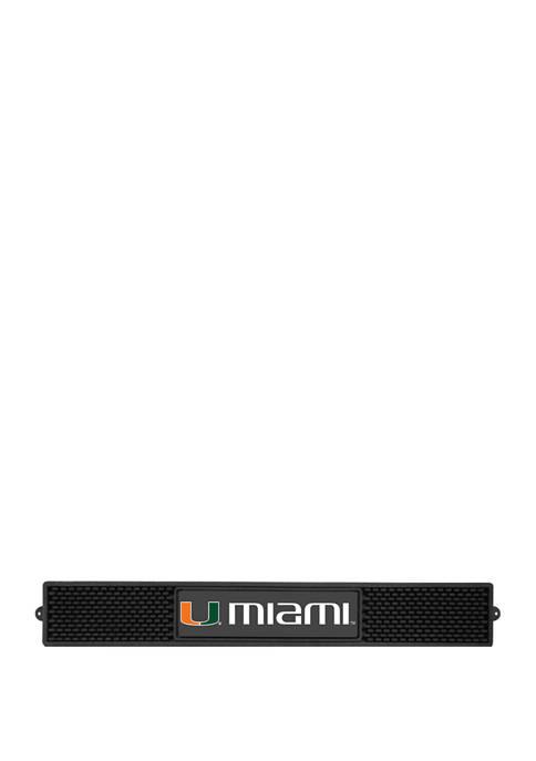 Fanmats NCAA Miami Hurricanes 3.25 in x 24