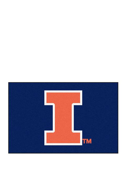 Fanmats NCAA Illinois Fighting Illini 19 in x