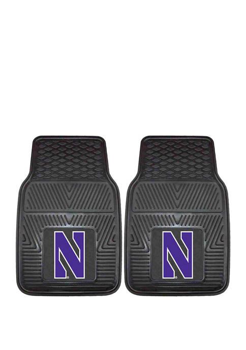 Fanmats NCAA Northwestern Wildcats Set of 2 27
