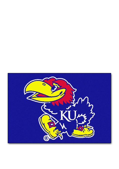 NCAA Kansas Jayhawks 19 in x 30 in Starter Mat