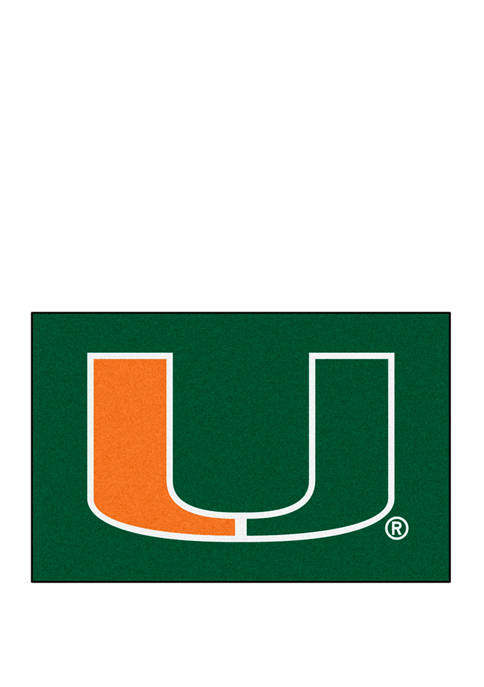 Fanmats NCAA Miami Hurricanes 19 in x 30