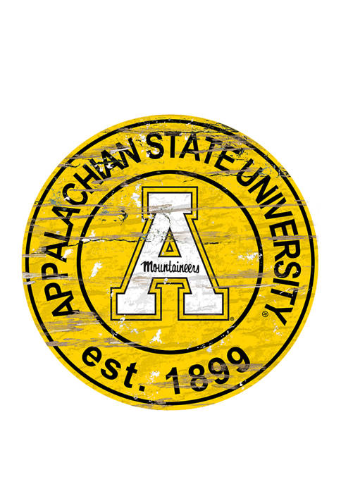 Fan Creations NCAA Appalachian State Mountaineers Distressed