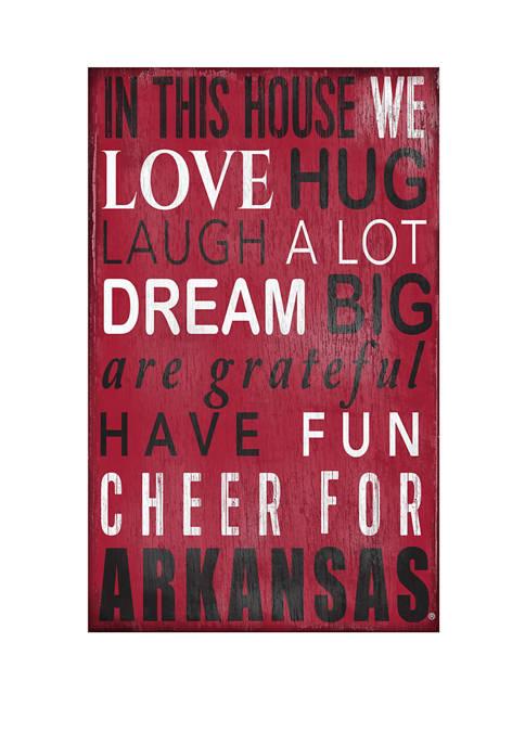Fan Creations NCAA University of Arkansas Razorbacks In
