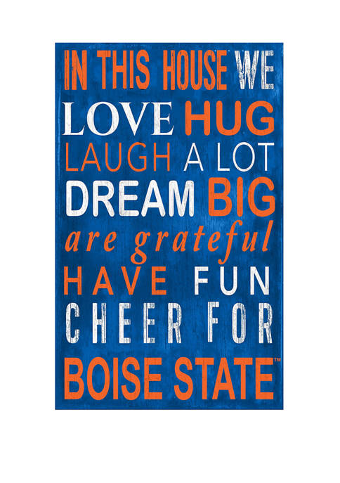 Fan Creations NCAA Boise State Broncos In This