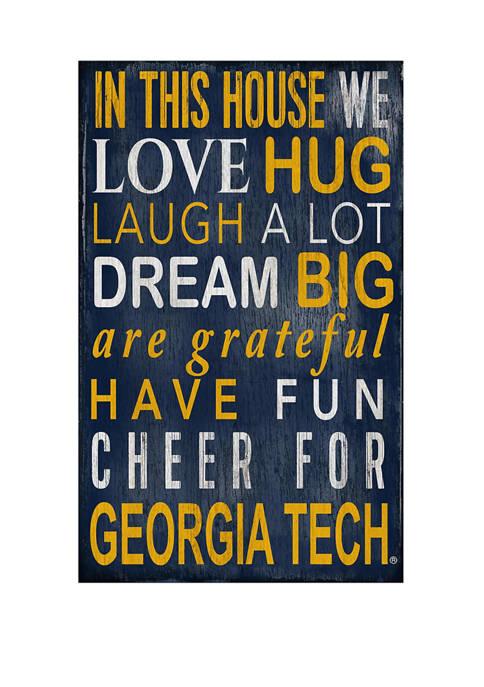 Fan Creations NCAA Georgia Tech Yellow Jackets In