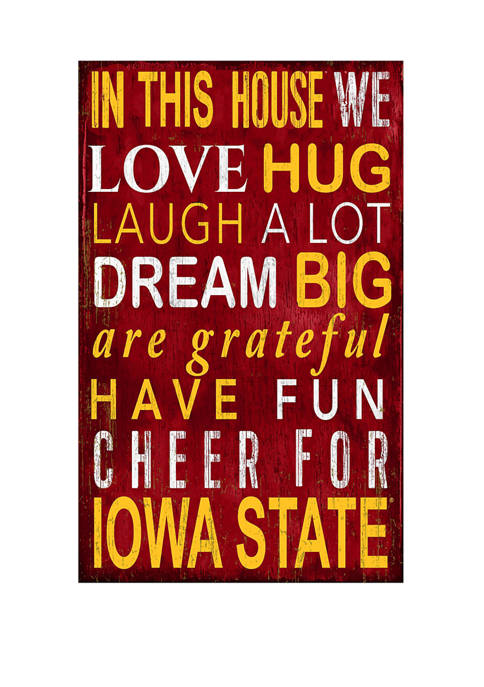 Fan Creations NCAA Iowa State Sycamores In This