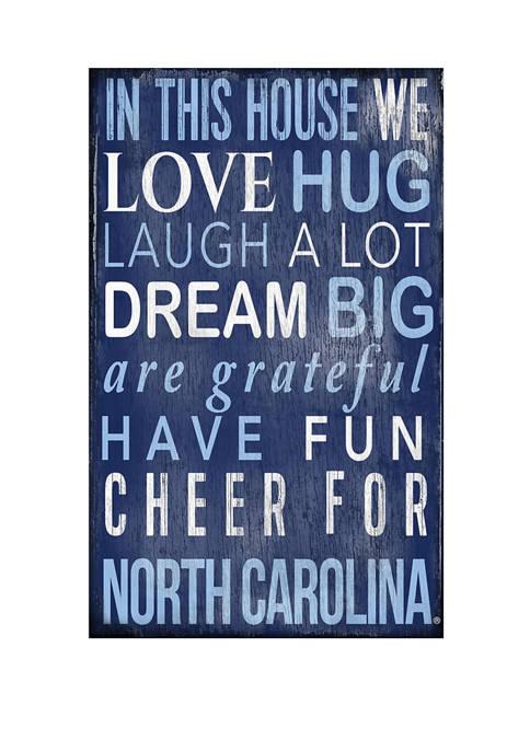 Fan Creations NCAA North Carolina Tar Heels In
