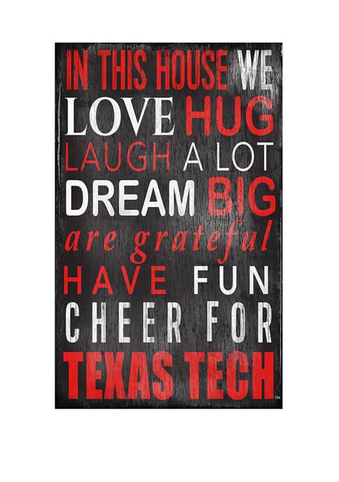 Fan Creations NCAA Texas Tech Red Raiders University
